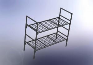 "кровати металлические в наличие и под заказ от компании ""КРАФТ"""