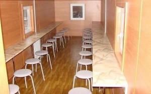 Столовые на базе бытовок в Калуге.